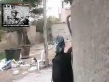 Сирия. Тактика городского боя террористов